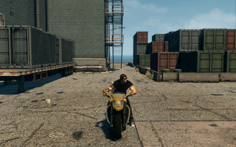 Kaneda - front in Saints Row The Third