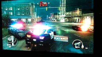 Peacemaker with logo in Saints Row The Third