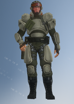 STAG - soldier - character model in Saints Row IV