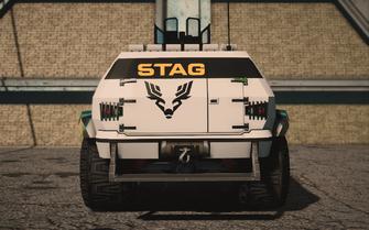 Saints Row IV variants - N-Forcer STAG - rear