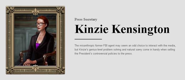 Saints Row website - People - The Cabinet - Kinzie Kensington