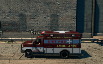Ambulance - left in Saints Row The Third