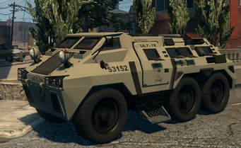 Bear - National Guard variant - front left in Saints Row The Third