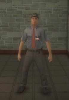 Cop - goon hispanic male - character model in Saints Row 2