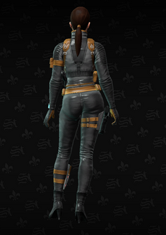 Cypher rear - character model in Saints Row The Third
