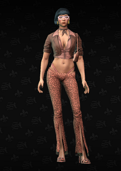 Ho02 - Mary - character model in Saints Row The Third