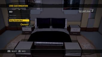 Penthouse Loft - Crib Customization - Bed - Pimp Double Bed