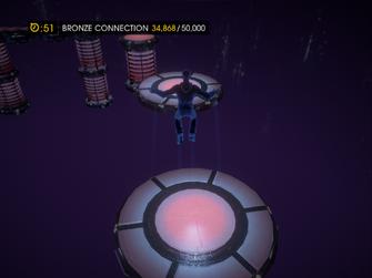 Platforming Rift - in the air