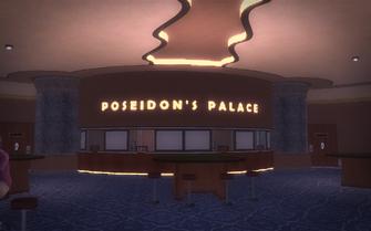 Poseidon's Palace interior - cashier area