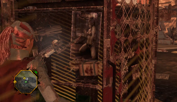 Shaundi poster in Weapon Locker in Red Faction Guerilla Demons of the Badlands DLC