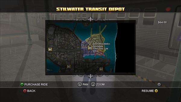 Stilwater Transit - Saint's Row Station