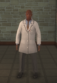 Doctor - lab black male - character model in Saints Row 2
