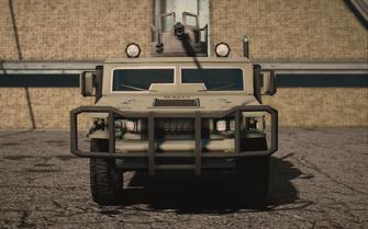 Saints Row IV variants - Bulldog (turret) average - front