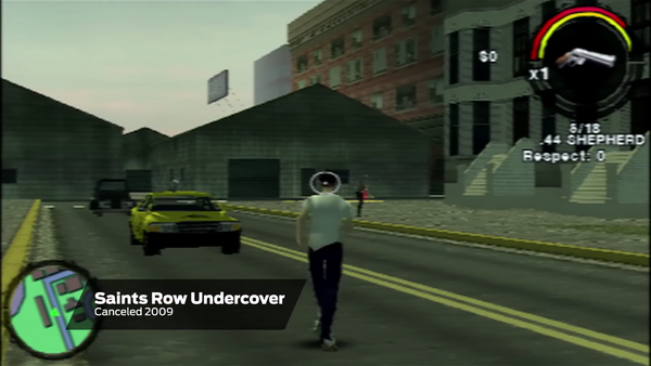 Saints Row Undercover - Gameplay with Taxi and .44 Shepherd