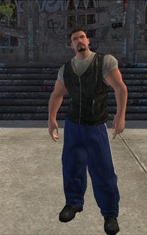 Westside Rollerz male Killa2-03 - white - character model in Saints Row