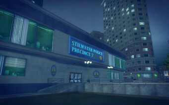 Adept Way in Saints Row 2 - Stilwater Police Precinct 7 police station