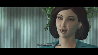 Burden of Proof - end cutscene - Jane closeup