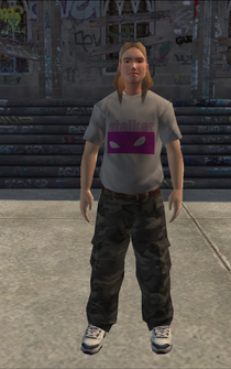Generic young male 01 - white - character model in Saints Row