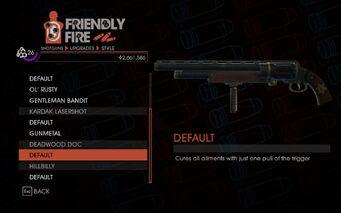 SR4 Pump Action Shotgun Deadwood Doc