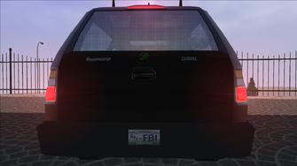 Saints Row variants - FBI - rear