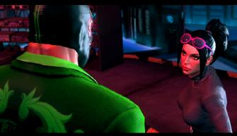 Trojan Whores end cutscene - Kiki DeWynter talking to Killbane