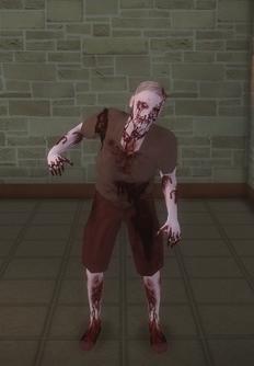 Zombie - male b - character model in Saints Row 2