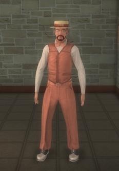 Barbershop - whitebeard - character model in Saints Row 2