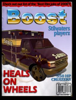 Boost-unlock ambulance