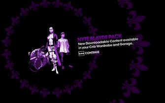 DLC unlock SRTT - Nyte Blayde Pack