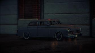 Gunslinger - Ultimate variant - at night in Saints Row IV