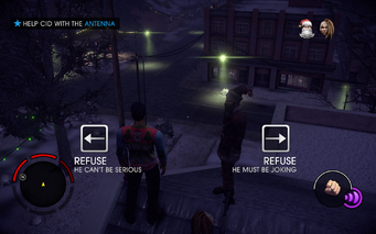 Miracle on 3rd Street - Help CID with the Antenna objective