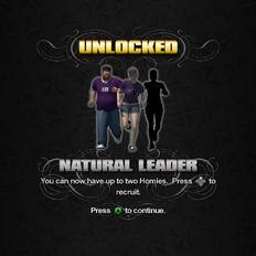 Saints Row unlockable - Homies - Natural Leader - 2 Homies