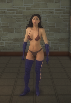 Stripper female b - asian Formal - character model in Saints Row 2