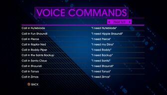 Voice Commands Page 8 - Saints Row IV Re-Elected