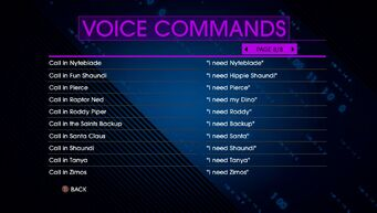 Voice Commands Page 8 - Saints Row IV Re-Elected