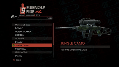 Weapon - Special - Sniper Rifle - GI Sniper - Jungle Camo
