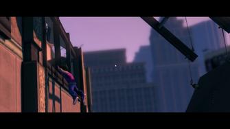 When Good Heists Go Bad - Playa jumping towards building