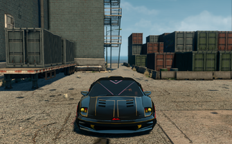 Wraith - front in Saints Row The Third