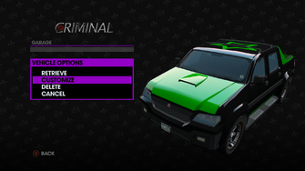 Criminal - Luchador variant is customizable