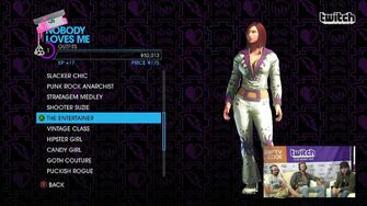 Nobody Loves Me - The Entertainer Outfit in Saints Row IV