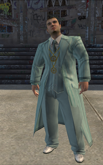 Pimp-02 - white - character model in Saints Row