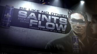 Saints Flow billboard in CG Power trailer