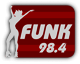Saints Row 2 clothing logo - funk radio station