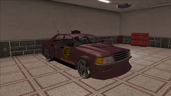 Saints Row variants - Taxi - BigWilly B - front right