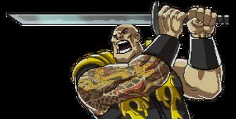 Saints of Rage boss jyn