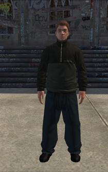 Theft - Matt - character model in Saints Row