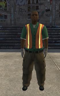 Garbageman - blackGN - character model in Saints Row