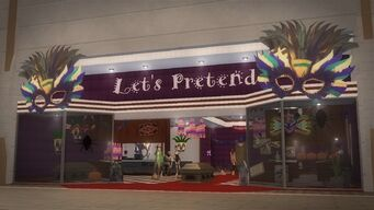 Let's Pretend - exterior in Saints Row 2