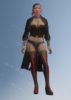 Morningstar - Clara - character model in Saints Row IV