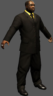 Saints Row character render - Ben King's body